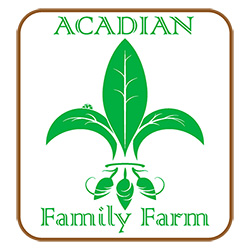 Acadian Family Farm Logo